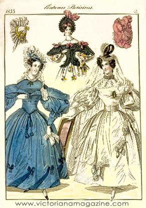 1830s bride