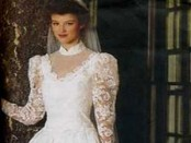 1980 wedding dress