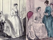 1850 wedding dresses