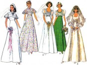 1975 wedding pattern